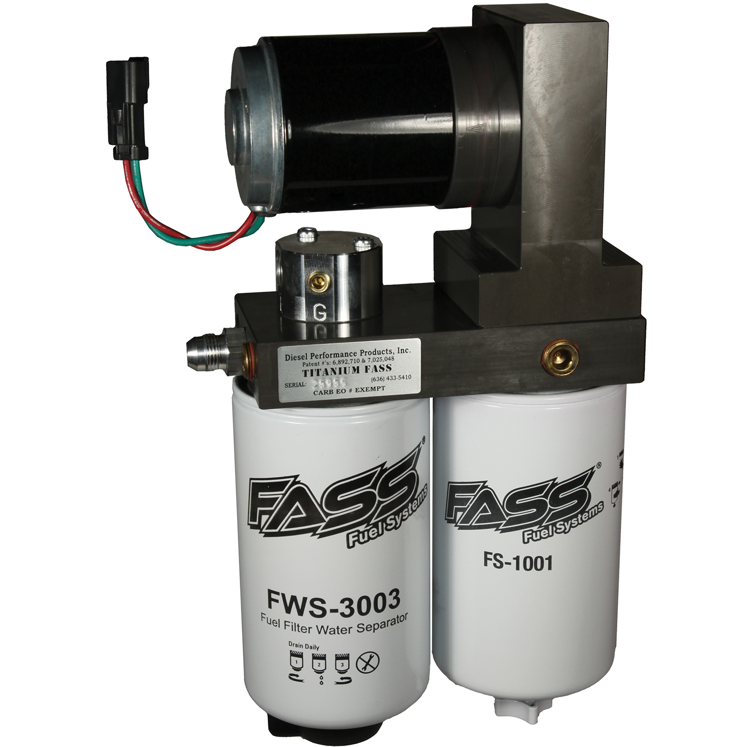 1999 - 2007 Ford Powerstroke Fuel Air Separation System